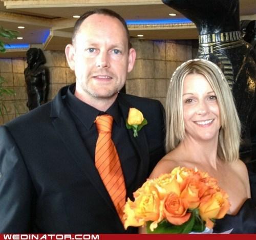 orange roses tie - 6531581696