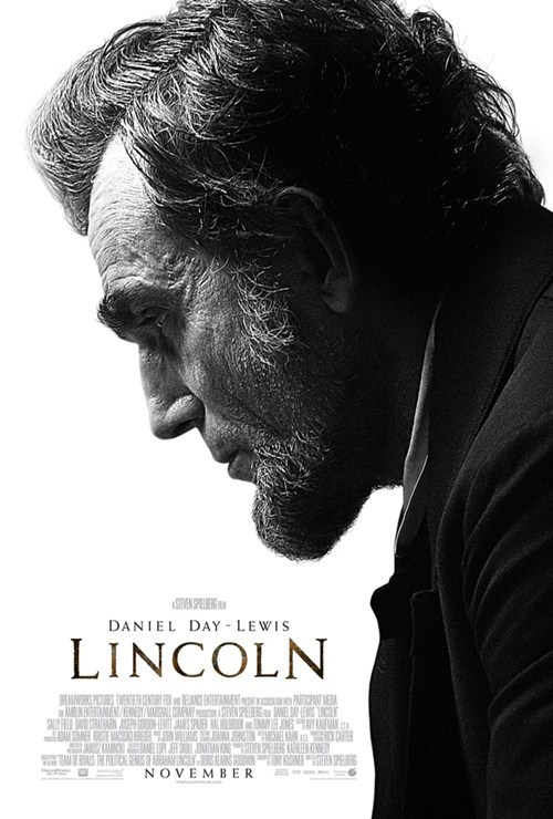 daniel day-lewis lincoln movie poster - 6531633920