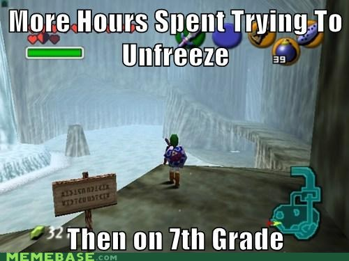 childhood,memories,unfreeze,zelda