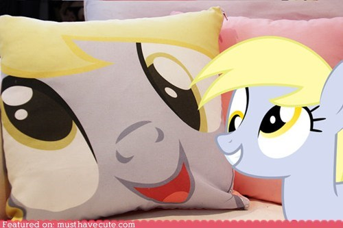 derp derpy mlpfim my little pony Pillow ponies - 6531729152