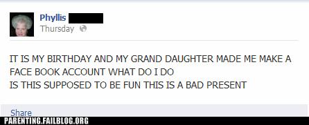 facebook,grandma