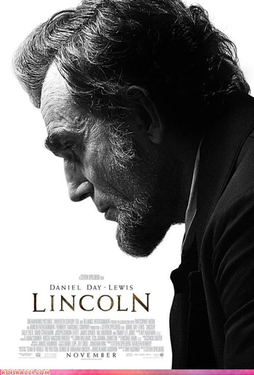 actor celeb daniel day-lewis lincoln Movie poster steven spielberg - 6531777536