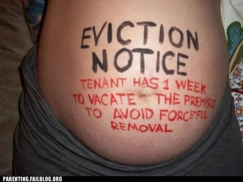 eviction notice,pregnancy