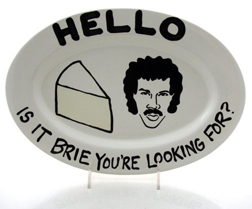 Afternoon Snack cheese plate lionel richie