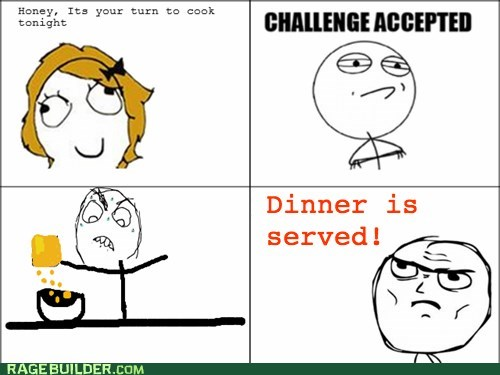 Challenge Accepted dinner cereal - 6532011008