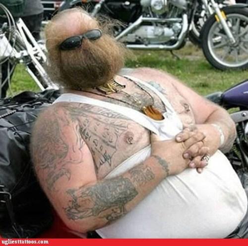 beard bikers funny face - 6532029184