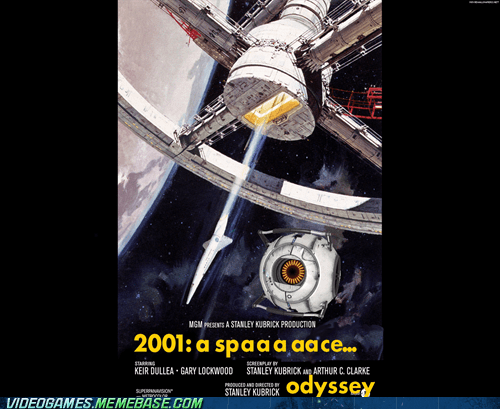 2001,awesome,Portal,poster,space