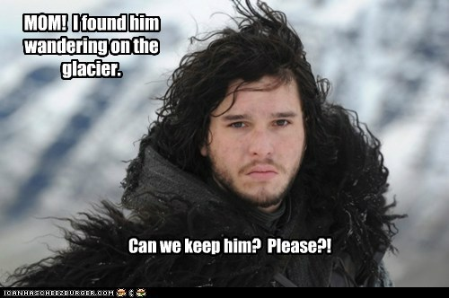 a song of ice and fire,can we keep him,cute,Game of Thrones,Jon Snow,kit harrington,pet,stark