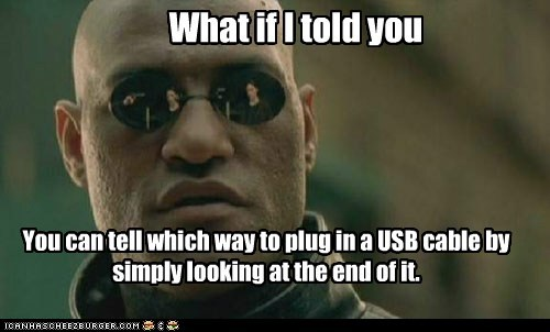 Lawrence Fishburne Morpheus neo the matrix USB cable what if i told you - 6532112384