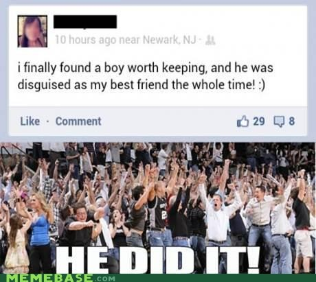 best friend boy friendzone he did it Memes - 6532209664