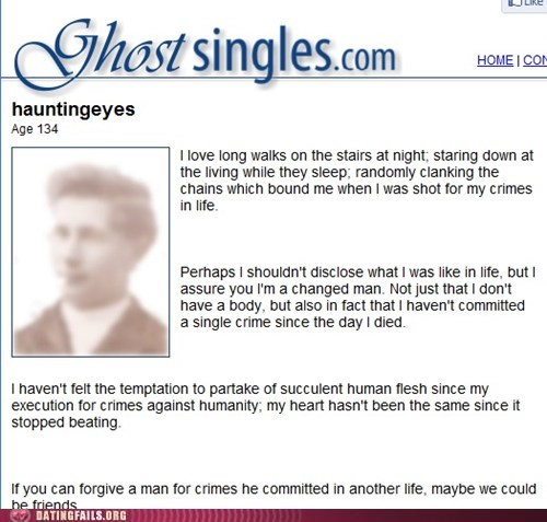 Dating Ghost site gratis dating sites in Atlanta