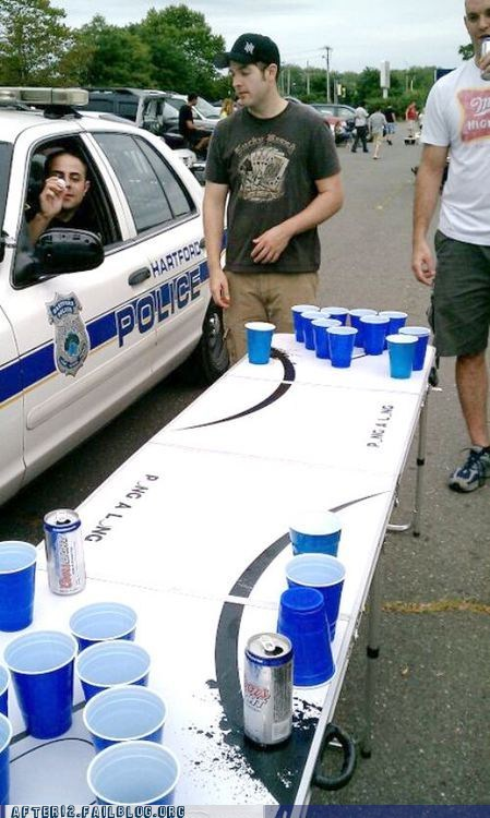alcohol beer pong hartford police police - 6532313344