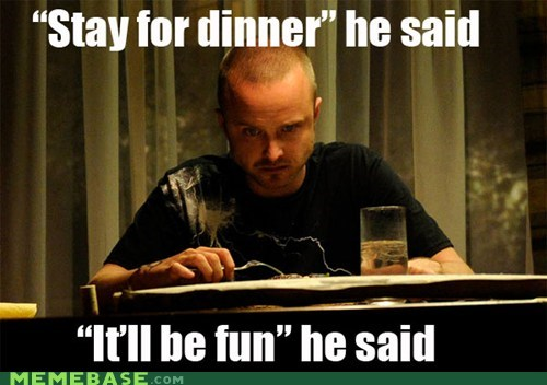 breaking bad,dinner,jessie,skyler is the worst