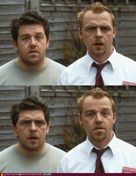 actor celeb faceswap Movie Nick Frost Simon Pegg