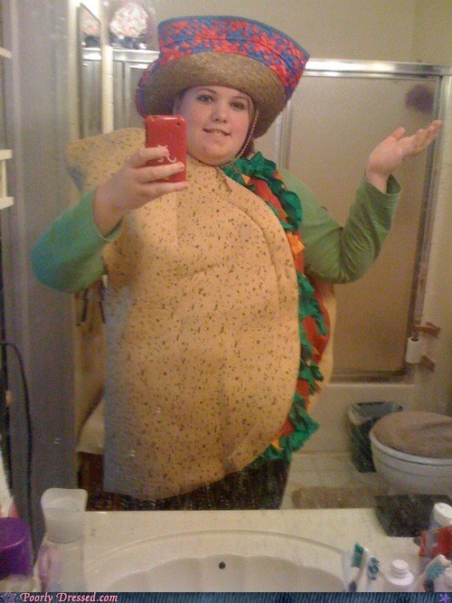 self shot taco costume - 6532340480