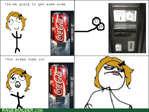 vending machines soda lucky