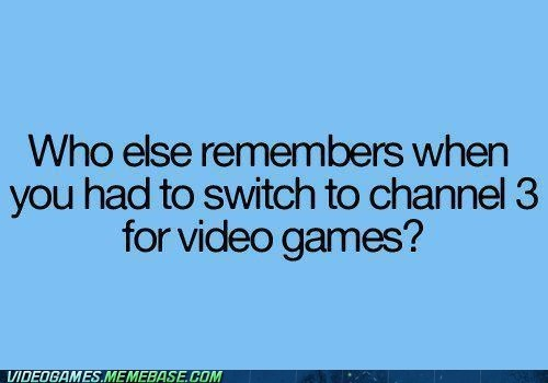 channel 3,old timey,video games