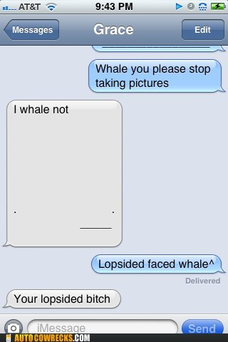 clever,lopsided whale,that escalated quickly,whale,whale emoticon