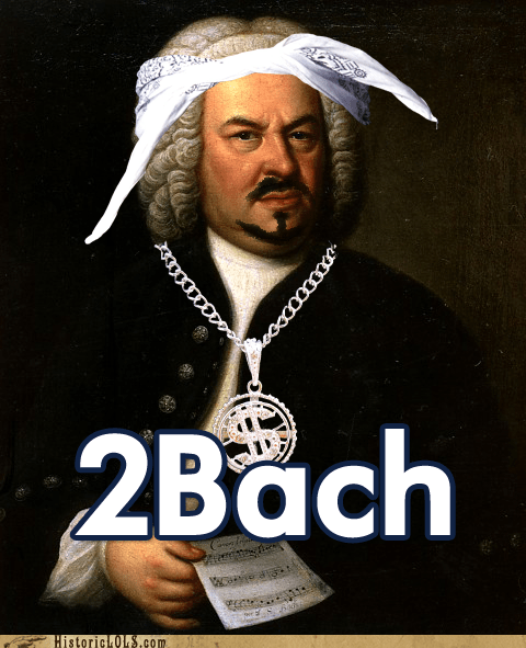 Bach bandana Bling gangsta tupac - 6532591104