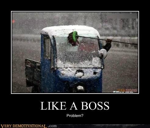broom snow Like a Boss - 6532660992