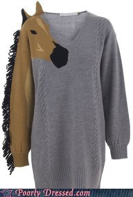horse sweater - 6532689152