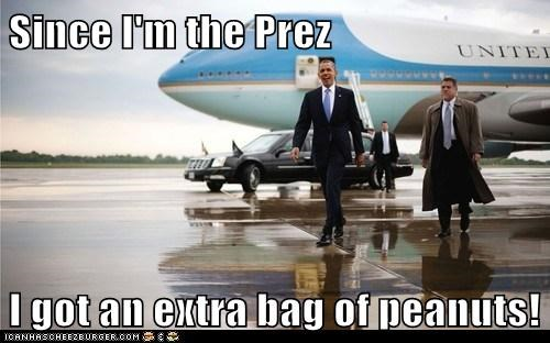 air force one,airplane,barack obama,extra,peanuts,president