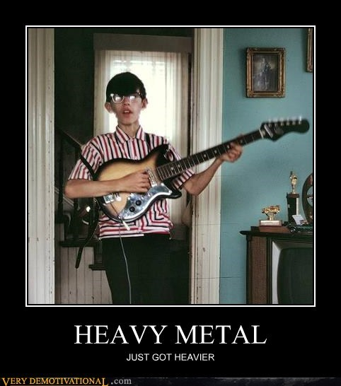 awesome guitar heavy metal kid