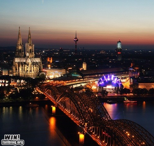 bridge Brother Nature FTW cathedral cologne europe pretty colors wincation - 6532903424