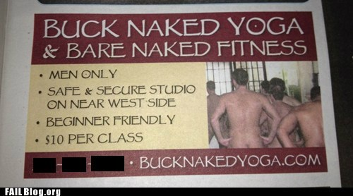 advertisement au naturale bros newspaper yoga - 6532937728