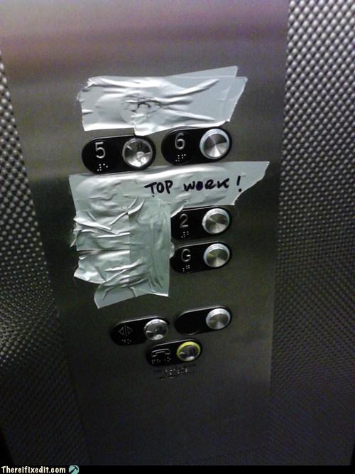 connector words elevator Elevator Buttons elevator shaft top work - 6533649408