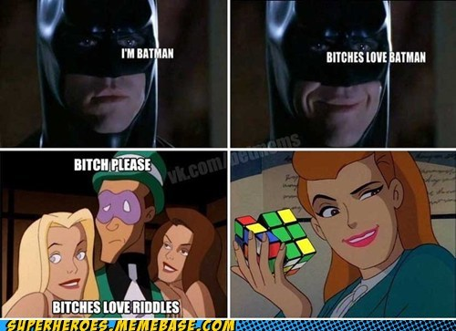 batman Riddler rubicks-cube - 6533660416