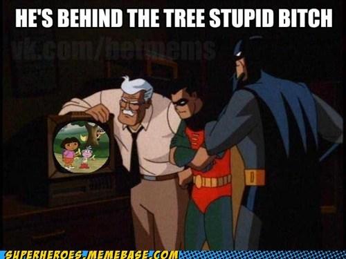 batman commissioner gordon dora the explorer robin - 6533661696