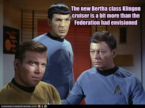 Captain Kirk DeForest Kelley federation klingon Leonard Nimoy McCoy Shatnerday Spock Star Trek starship William Shatner - 6533883648