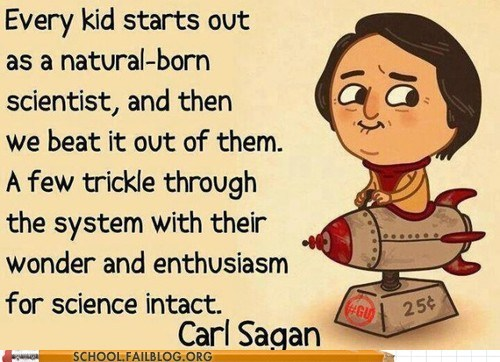 carl sagan science scientists Words Of Wisdom - 6533922304