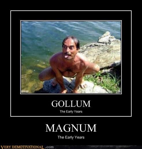 gollum magnum-p-i mustache - 6533971712
