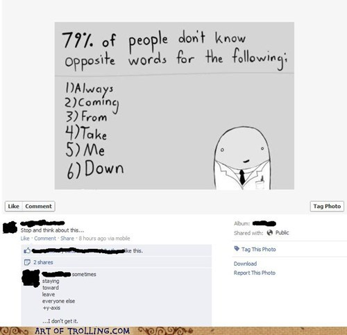 anti troll,facebook,FAIL,rick roll