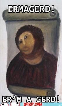 art restoration,Ermahgerd,jesus