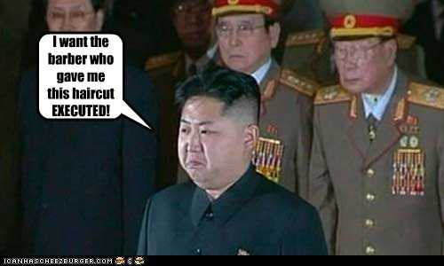 barber executed haircut kim jung-un North Korea - 6534074368
