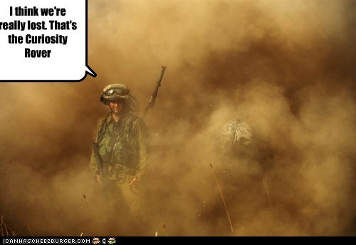 curiosity dust lost Mars nasa soldier - 6534096896