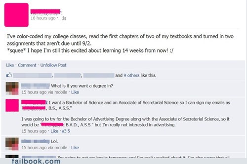 bachelor of science bachelors degree BAMF masters degree school