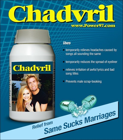 chadvril,eyeliner,no permanent cure,wedding