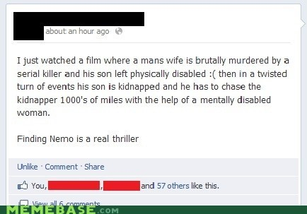 facebook,finding nemo,movies