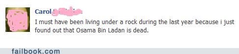 living under a rock Osama Bin Laden slowpoke