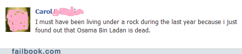 living under a rock Osama Bin Laden slowpoke - 6534229504