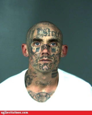 face tattoos mugshots - 6534319616