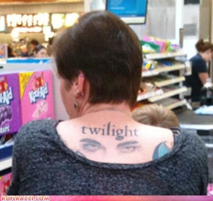 funny Movie tattoo twilight - 6534610432