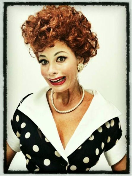 imitation is the greatest imitation is the greatest form of flattery lucille ball sofia vergara - 6534610688