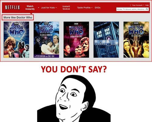 doctor who,netflix,you dont say