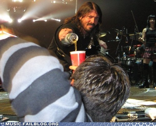 can of soda,Dave Grohl