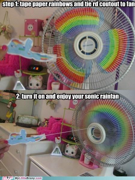 fan IRL rainbow sonic rainboom - 6534777088